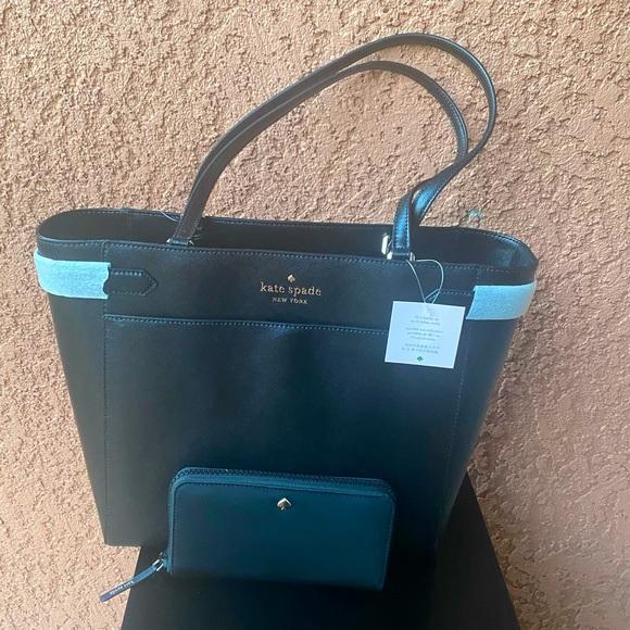🔥HOST PICK🔥 Kate Spade Staci Laptop Tote & Jae Large Wallet